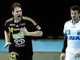 Neuer Mann für den VfL Gummersbach: Fredrik Larsson.