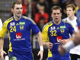 Fredrik Petersen und Mattias Zachrisson