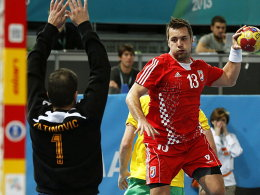 Zlatko Horvat führte Kroatien gegen Australien zum Sieg