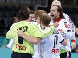 Jubelndes DHB-Team