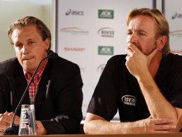 Nicht schon wieder: HSV-Geschäftsführer Christoph Wendt und Trainer Martin Schwalb hätten auf weitere Duelle mit Flensburg gerne verzichtet.