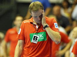 Rat- und machtlos: Bundestrainer Martin Heuberger hat keine Zukunft mehr beim DHB.