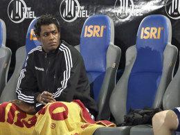Alleine gelassen: Rückraumspieler Wael Jallouz könnte Kiel bald verlassen.