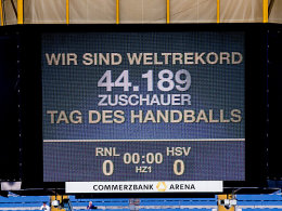 Weltrekord im Handball