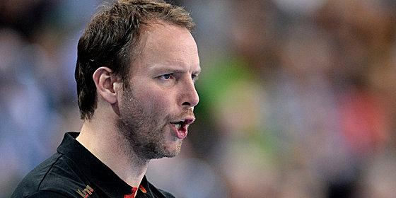 """""""Der Kader ist eher in Richtung Defensive orientiert"""": Bundestrainer Dagur Sigurdsson."""