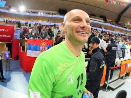 Katars sicherer Rückhalt: Der gebürtige Serbe Danijel Saric.
