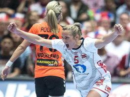 Auf zum Titel: Norwegens Ida Alstad jubelt im Finale.