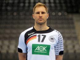 Handball-EM: Weinhold neuer DHB-Kapit�n