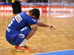 Muss mit dem erneuten Rückschlag einer Verletzung umgehen: HSV-Rückraumass Drasko Nenadic.