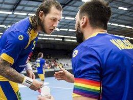 EHF verbietet Schwedens Regenbogenarmbinde