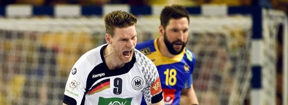 War für neun Treffer am Montagabend verantwortlich: Rechtsaußen Tobias Reichmann.