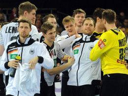 Das lief glatt: Die deutsche Mannschaft setzte sich gegen Ungarn überraschend souverän durch.