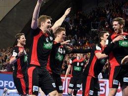 Der Traum geht weiter: Die DHB-Herren stehen unter den letzten Vier bei der EM 2016.