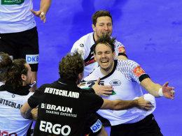 Der umjubelte Halbfinal-Held: Kai Häfner ballerte Deutschland ins Endspiel.