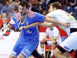 Kaum zu halten: Kroatiens Domagoj Duvnjak traf sechsmal.