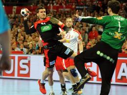 Hat sich am Mittwoch im Training der Europameister-Auswahl in Berlin das Knie verdreht: Erik Schmidt.