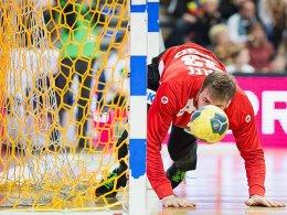 Stolperfalle: Andreas Wolff die deutsche Nationalmannschaft verloren.