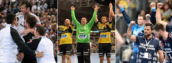Wer jubelt am Ende über die deutsche Meisterschaft: Kiel, die Löwen oder doch Flensburg?