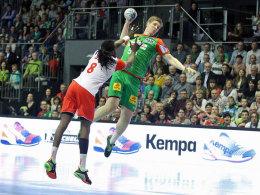 39:22! Magdeburg ballert sich ins Viertelfinale