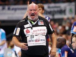 Mit Leidenschaft zum Ligaverbleib: HBW-Coach Frank Bergemann.