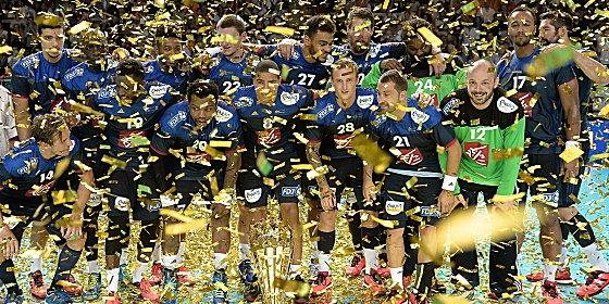 Goldene Generation: Frankreichs Handball sind gut ger�stet f�r die Olympischen Spiele.