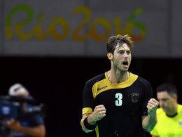 Zweiter Sieg! Deutsche Handballer auf Viertelfinalkurs