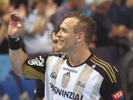 Zurück beim THW: Wurfschleuder Christian Zeitz spielt wieder für Kiel.