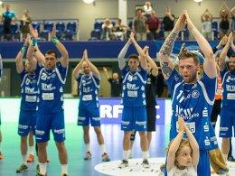 Ein bisschen Island beim BHC: Jubel nach dem Pokalsieg.