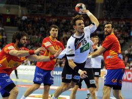 Final-Neuauflage: Europameister zweimal gegen Spanien