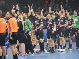 Champions League: Dritter Sieg für Flensburg