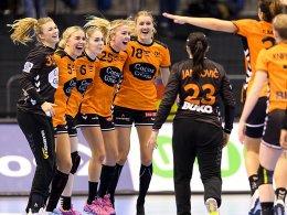 Norwegen und Niederlande im Halbfinale