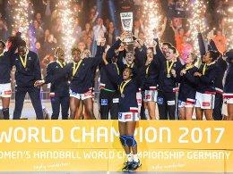 Französinnen feiern zweiten WM-Titel