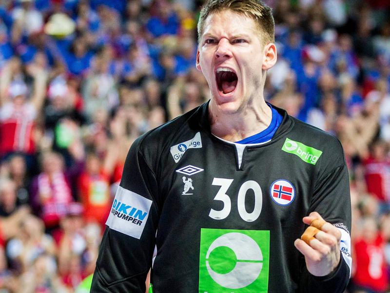 Auf ihn darf sich die SG Flensburg-Handewitt im Sommer freuen: Norwegens Nationalkeeper Torbjörn Bergerud.