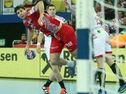 Kroaten zittern sich zum Sieg gegen Weißrussland