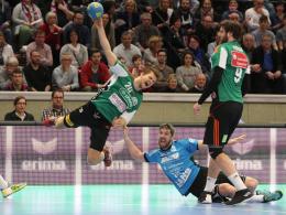 Hannover wieder Vierter - Auch Melsungen gewinnt