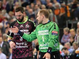 Nach Flensburgs Viertelfinal-Einzug: Knödel für Karlsson