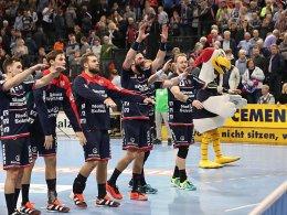 Flensburg wieder Zweiter - Hannover schlägt Melsungen