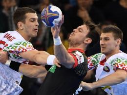 Sieg gegen Weißrussland: DHB-Team wahrt weiße Weste