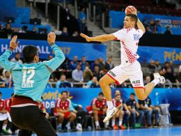 Klarer Erfolg für Kroatien - Dänemark Gruppensieger