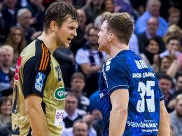 Flensburg verteidigt Spitze - Kiel nun Zweiter