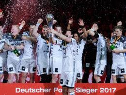 THW furios! Kiel gewinnt Pokalfinale gegen Flensburg