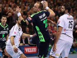 Flensburg verliert Hinspiel gegen Skopje