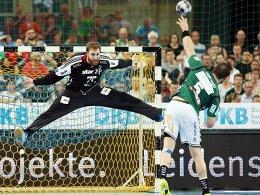 Verliert der THW Kiel Nationaltorwart Wolff?