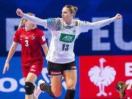 Handballerinnen erreichen EM-Hauptrunde