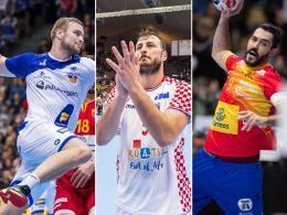 Halbfinale keine Utopie: Die drei Hauptrundengegner