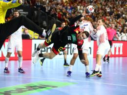 DHB-Team ringt Kroatien nieder und bucht Halbfinale
