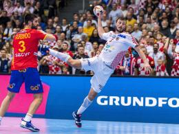 LIVE! Wer holt sich Platz fünf: Kroatien oder Schweden?