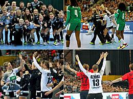 Zu große Erwartungen: Das deutsche Turnier in Bildern