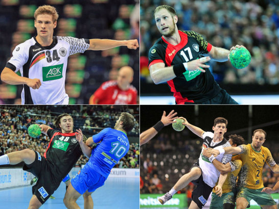 Rune Dahmke, Kapit�n Steffen Weinhold, Jannik Kohlbacher und Simon Ernst sind in Polen dabei.