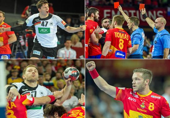 Eindrücke vom Spiel Deutschland gegen Spanien.